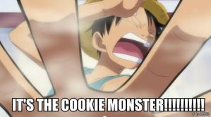 IT'S THE COOKIE MONSTER!!!!!!!!!! by lu40953