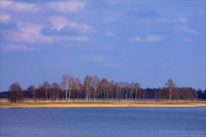 One Very Blue Landscape by rici66
