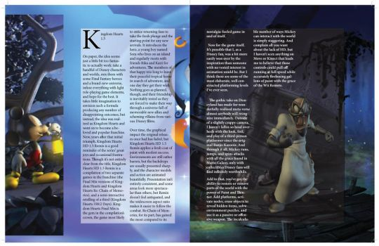 Game informer Magazine Page: 3-6 by mermaidfan