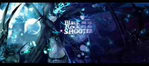 Black rock shooter by Corrupted-Wolf