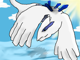 Lugia by whisperofstars