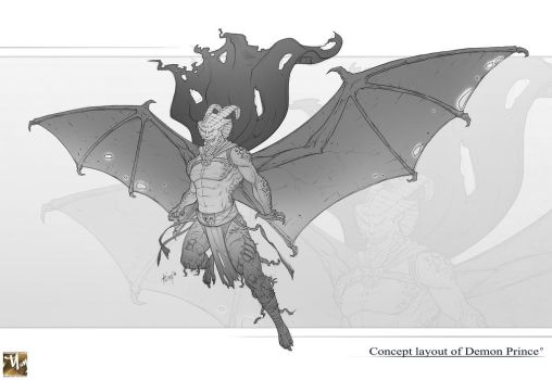 Character layout of Demon prince by prosn
