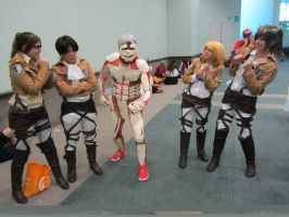 Attack on Titan Anime Expo 2014 by Piplup501