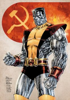 Colossus Lee Colwell colors by JeremyColwell