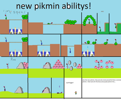 new pikmin and abilitys by ryanfrogger