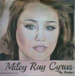 Miley Cyrus - Drawing by BeatrizLoveMyJesus