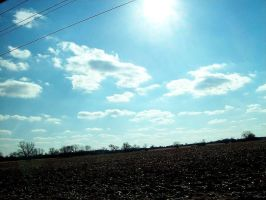 Sunspot power lines by insignificantartist
