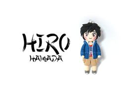 Chibi Charms: Hiro Hamada - Big Hero 6 by Marielishere