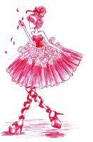 Robe rouge by lolitpop