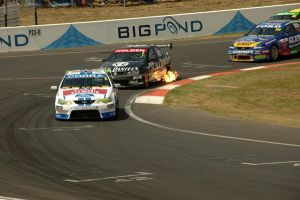 The Fire at Bathurst by Mitchography