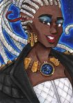 ACEO Society Bernadette by nickyflamingo