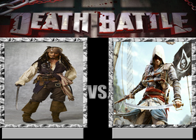 Captain Jack Sparrow vs Edward Kenway by Caharvey