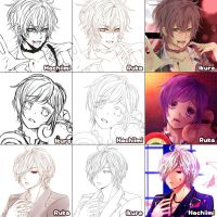 [Switch around meme] Diabolik lovers by Hachiimi