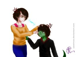 Androssi and Anak- Tower of God by YaseiMao