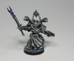 Chaos Sorcerer Black and White by McGoe