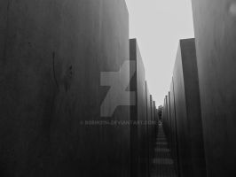 Holocaust Memorial in Berlin by Robin2114