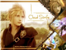 Cloud strife from FF VII by areemus