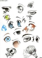 Anime Eyes 01 by AsuHan