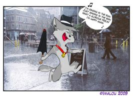 I'm singin'in the rain by Imalou