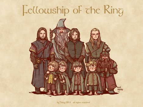 Fellowship of the Ring by haleyhss