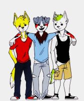 :R: 3 Doges by HalfWayNormal