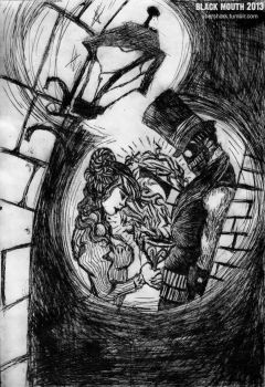 Intimate with Devils Drypoint 2/2 by black-mouth