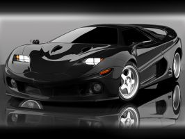 Concept car Wallpaper 02 BLACK by mmarti