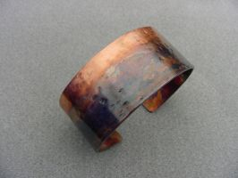 Bracelet- Painted Patina by DreamingDragonDesign