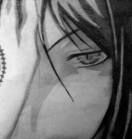 Sebastian Michaelis~ Pencil drawing by thegrudgegirl96