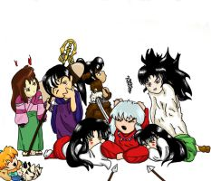 Inuyasha small size by littlechocolatekiss