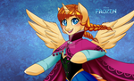 .My Frozen Pony: Anna. by Kikuri-Tan