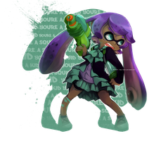 You're A Squid Now by IShot-U