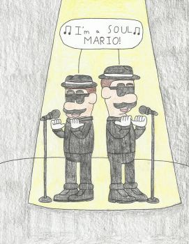 Super Blues Brothers by Sketch-It-Skip