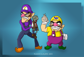 Garlic and Zombies by Kanis-Major