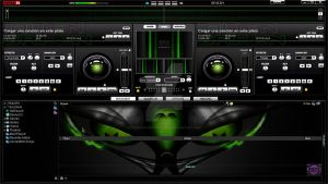 Skin Green For Virtual DJ 7 By FlowerRadiohead by FLORECITARADIOHEADHD