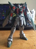 MG Wing Gundam- Awaiting decals. by lupesisagundam