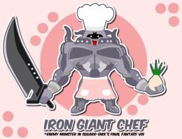 iron chef :D by malinamnam