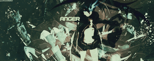 ANGER (Black Rock Shooter) by Elucidator18