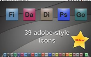 adobe style application icons by mcr70
