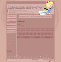 Simple overview - AngiShy.blog.cz design 2. by Angi-Shy