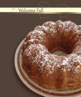 White Chocolate Apple Bundt Cake by picallure