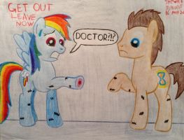 Doctor Whooves: Day of the Moon by Stevethepencil