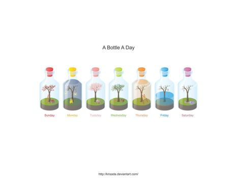 A Bottle A Day by Krisada