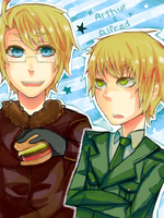 APH: Arthur and Alfred by skull-r0ckerx3