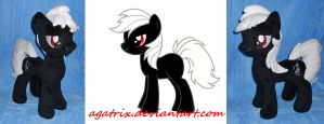 OC pony-Black by agatrix