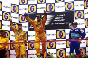 1998 Belgian Grand Prix Podium by F1-history