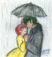Under the Umbrella by Kiyomi-chan16