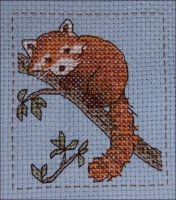 Shy -- Cross-stitch by wemustnotforget