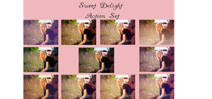 Sweet Delight Action Set* by chupla
