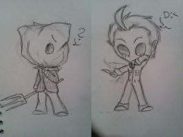 Chibi Jason and Michael by HeeeeresIzzy